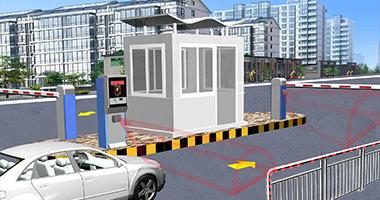 کنترل مانع دروازه پارکینگ